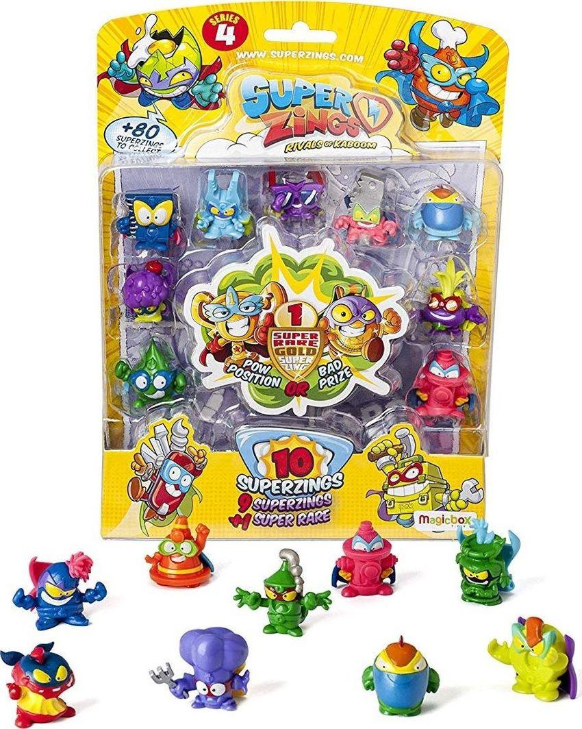 Magic Box Super Zings seria 4 10 pak Superzings 1