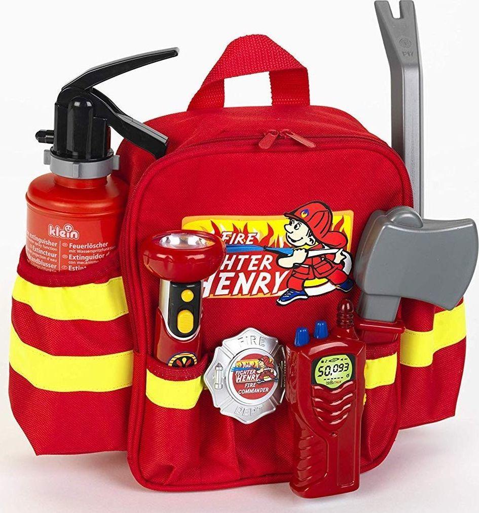 Klein Klein 8900 Plecaczek strażaka Henryego z wyposażeniem uniwersalny 1