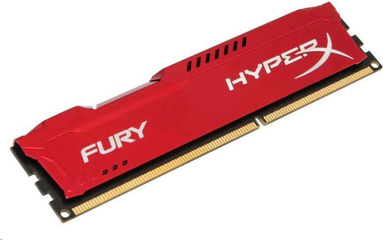 Pamięć HyperX HyperX, DDR3, 8 GB, 1600MHz, CL10 (HX316C10FR/8) 1
