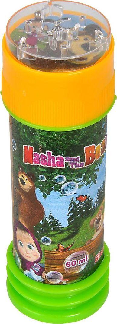 Simba Simba Masza i Niedźwiedź Bańki mydlane 60 ml zielony pojemnik uniwersalny 1