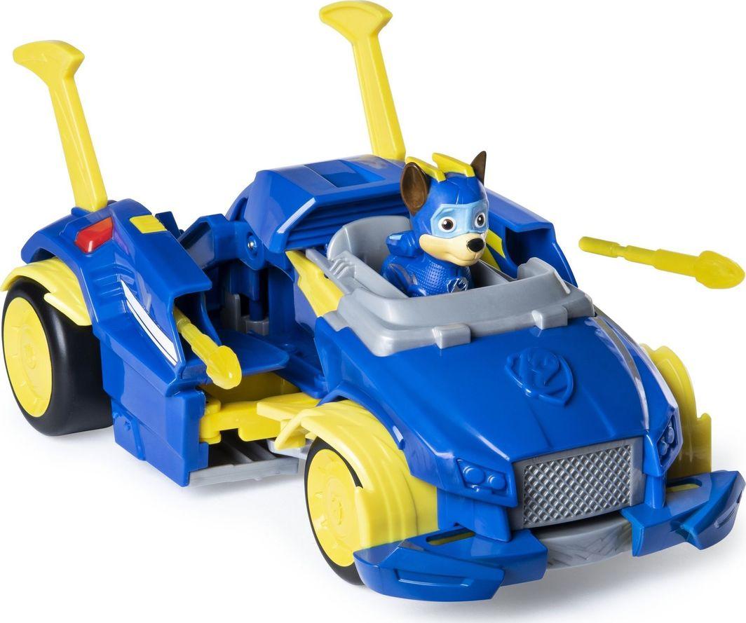 Spin Master Psi Patrol Chase pojazd transformujący z wyrzutniami + figurka 1