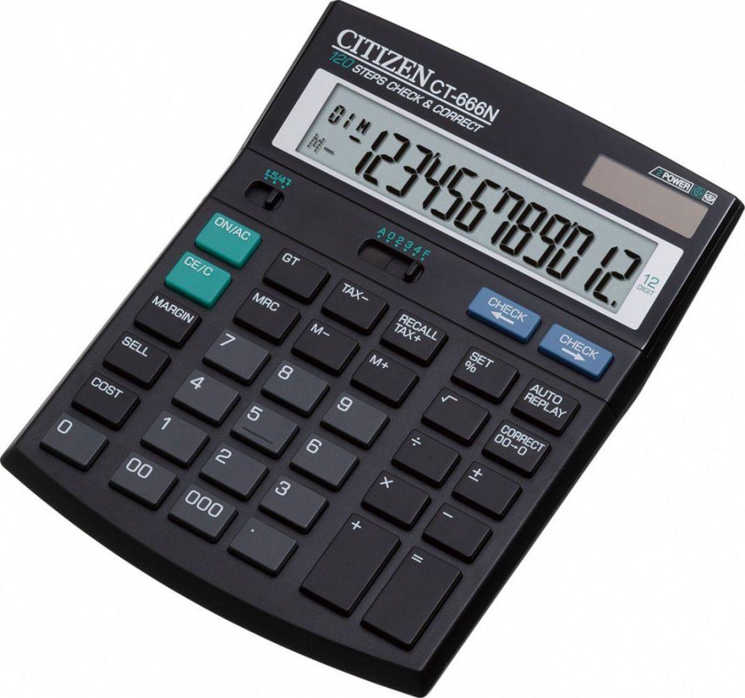 Kalkulator Citizen Ct 666n Id Produktu 638258