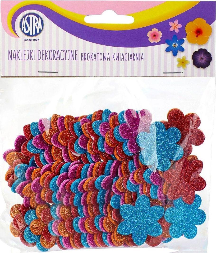 Astra Astra Naklejki Dekoracyjne Brokatowa Kwiaciarnia uniwersalny 1