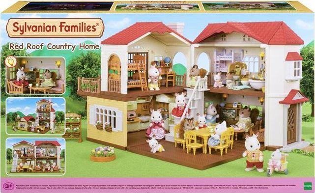 Figurka Epoch Sylvanian Families Domek z oświetleniem 1
