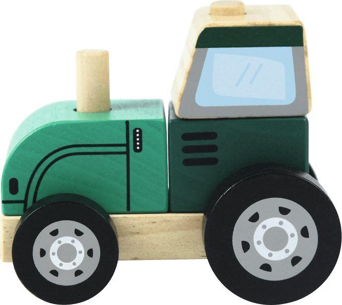 Trefl Drewniane Auto Traktor 1