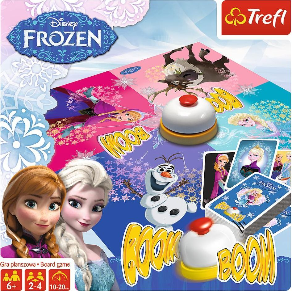 Trefl Trefl Boom Boom Frozen Kraina Lodu 2 Gra dla Dzieci uniwersalny 1