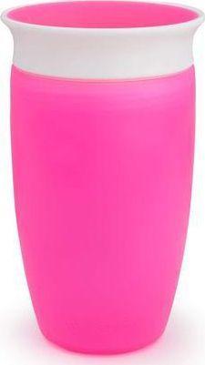 Munchkin Kubek niekapek 360 296ml różowy 1