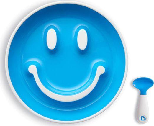 Munchkin Zestaw naczyń Smile 1