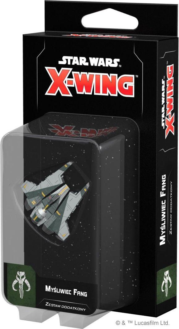 Rebel Star Wars: X-Wing Myśliwiec Fang (druga edycja) uniwersalny 1