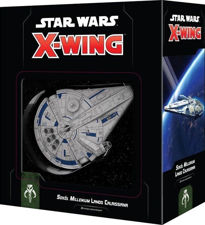 Rebel Star Wars: X-Wing Sokół Millenium Lando Calrissiana (druga edycja) uniwersalny 1