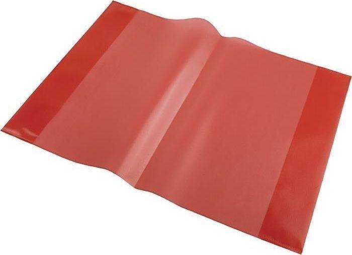 Panta Plast Okładka na zeszyt A5 PP czerwony (10szt) uniwersalny 1