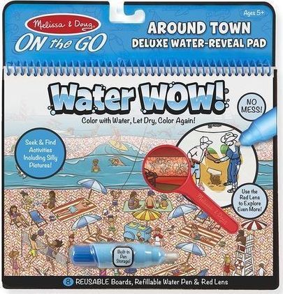 Water Wow Kolorowanka Wodna Deluxe Miasto Lupa 1