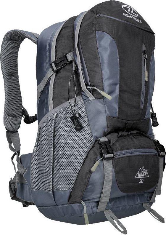 Highlander Plecak Turystyczny Hiker 30L Czarny uniwersalny 1