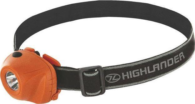Highlander Latarka Czołowa Beam 1 LED Pomarańczowa uniwersalny 1