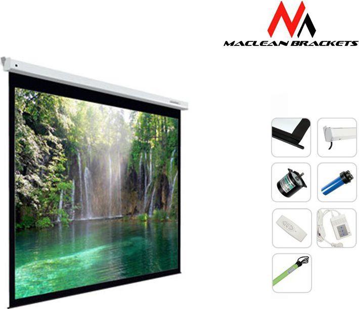 Ekran projekcyjny Maclean MC-562 167 cali 1