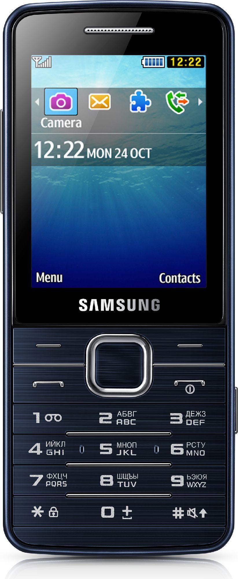 Telefon komórkowy Samsung GT-S5611 Utopia Primo Czarny (GT-S5611ZKAXEO) 1