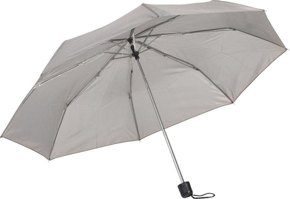 Kemer Składany parasol manualny KEMER PICOBELLO Szary uniwersalny 1