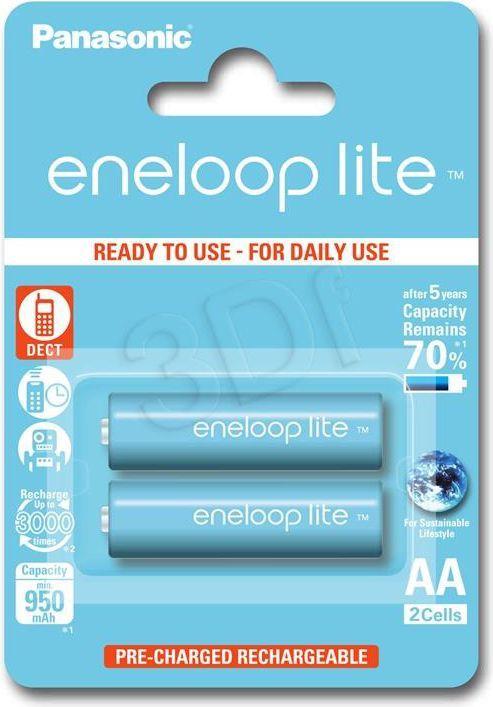 Panasonic Akumulator Eneloop Lite AA / R6 950mAh 2szt. 1