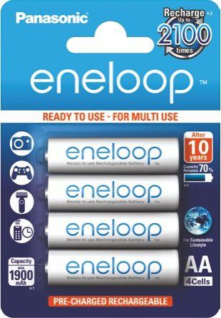 Panasonic Akumulator Eneloop AA / R6 1900mAh 4szt. 1