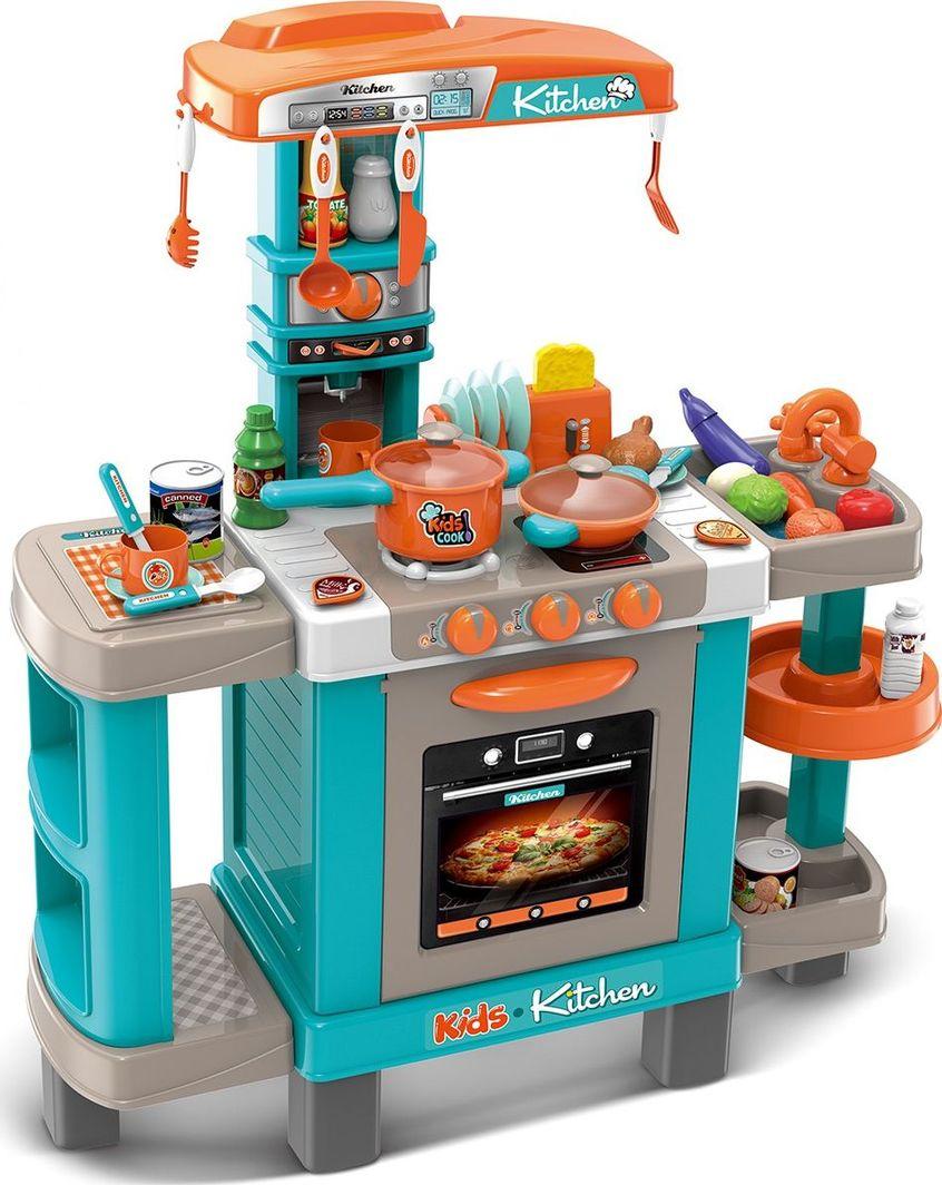 Enero Kuchnia dla dzieci 37 elementów błękitna 78x29x87cm uniwersalny 1