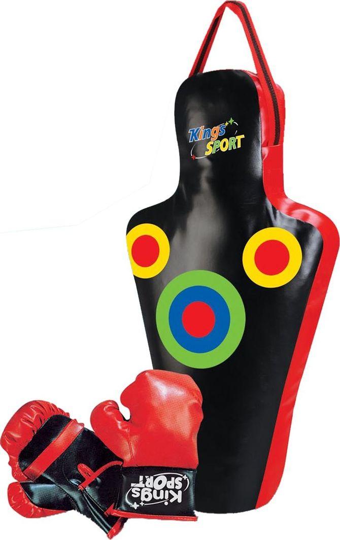 Enero Zestaw bokserski junior Enero manekin 59,5x17x34,5cm + rękawice uniwersalny 1
