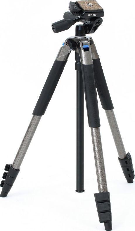 Statyw Slik SLIK statyw; nogi+głowica 3W; SPRINT PRO III; szary uniwersalny 1
