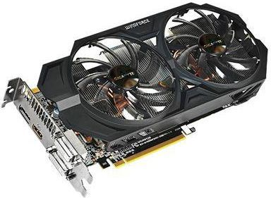 Karta graficzna Gigabyte GeForce GTX 760 OC 2GB GDDR5 (256 Bit) HDMI 2xDVI DP (GV-N760WF2OC-2GD) 1