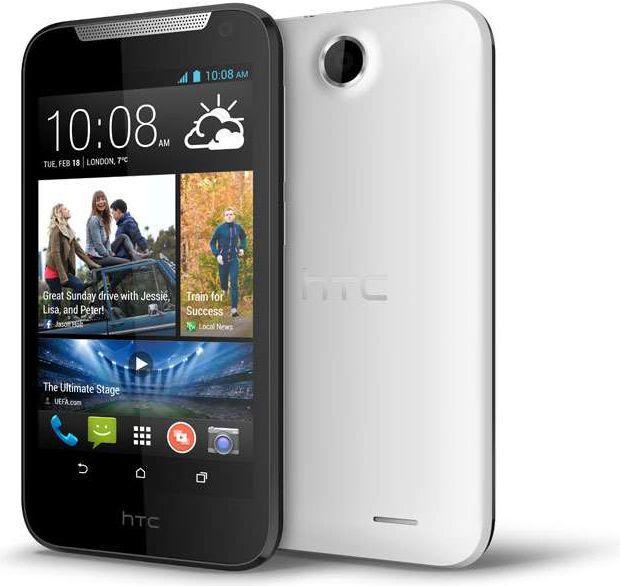 Smartfon HTC 4 GB Biały  (DESIRE 310 WHITE) 1