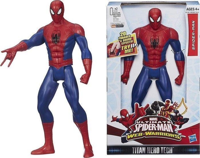 Hasbro Duża Figurka Spiderman Z Dźwiękiem B1461 1