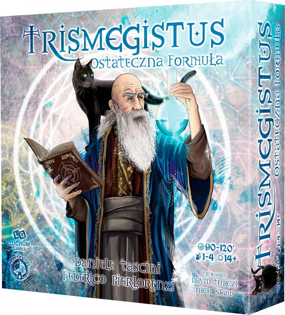 Lucrum Gra planszowa Trismegistus. Ostateczna Formuła 1