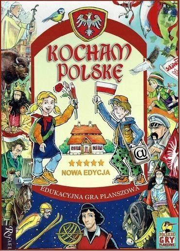 Rafael Gra planszowa Kocham Polskę 1