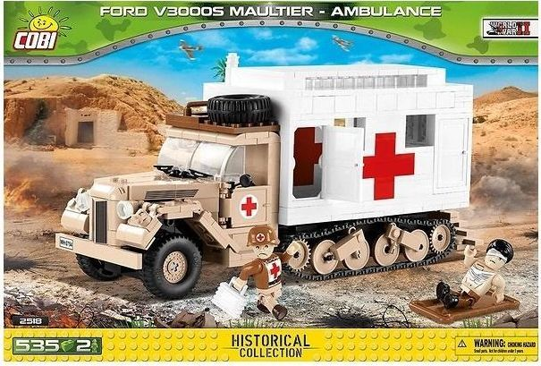 Cobi Historical Collection Ford V3000S Maultier Ambulance 1