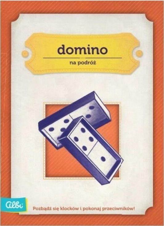Albi Domino gra podróżna ALBI 1