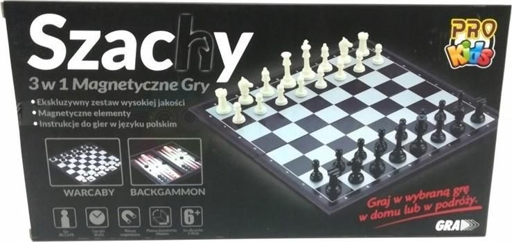 Pro Kids Szachy 3w1 Magnetyczne 1