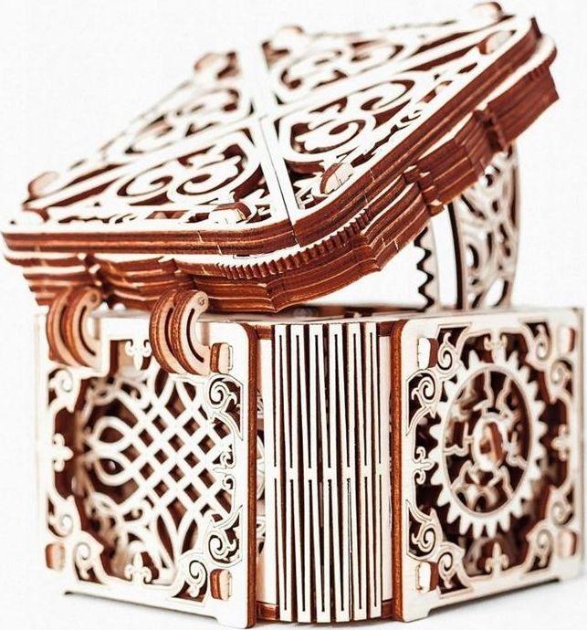 WOODEN CITY Drewniane puzzle 3D Tajemnicza szkatułka 1