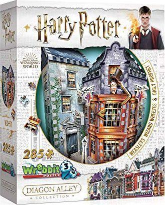Tactic Wrebbit puzzle 3D 285 el Weasleys Wizard 1