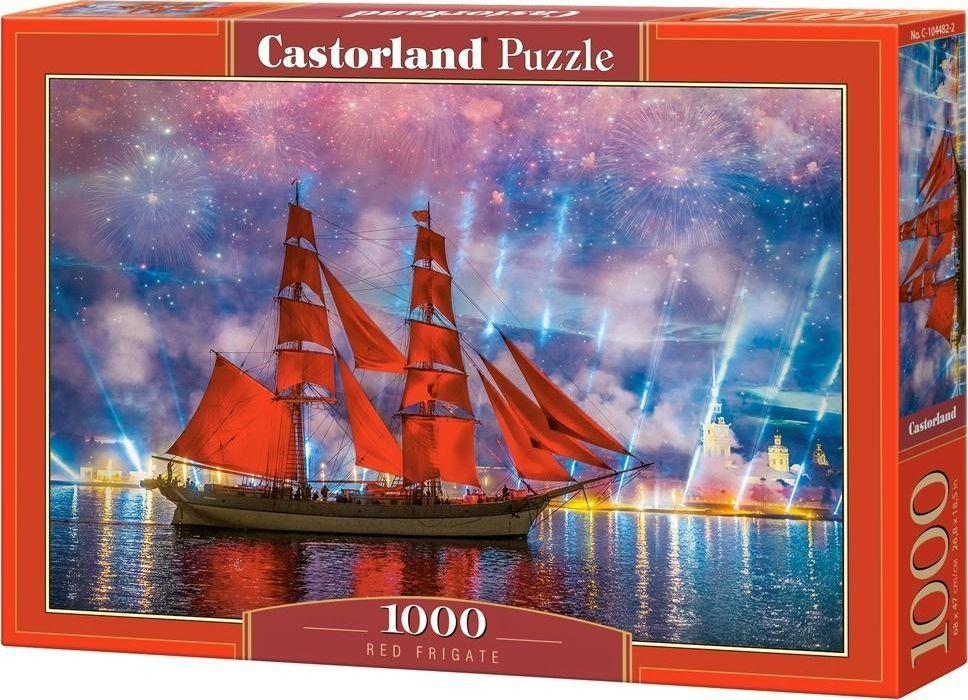 Castorland Puzzle 1000 Czerwona Fregata 1