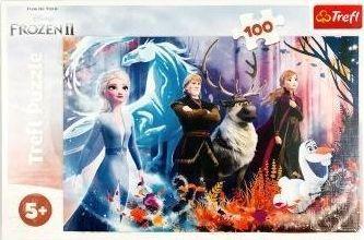 Trefl Puzzle 100 Magia Krainy Lodu 1