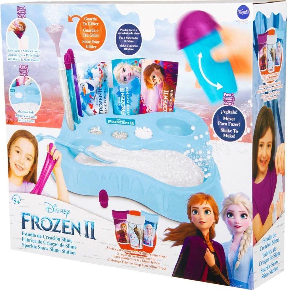 Pro Kids Stacja Slimowa śnieżny Slime Frozen 2 1
