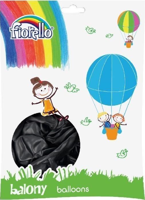Fiorello Balony Metal 12' czarny (100szt) FIORELLO 1