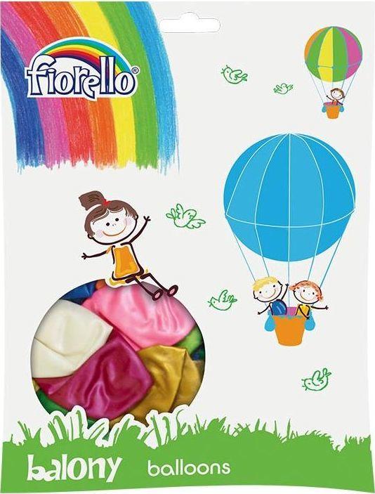 Fiorello Balony Metal 12' mix 100szt FIORELLO 1