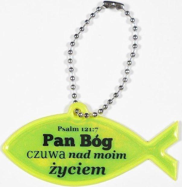 Koinonia Zawieszka odblaskowa. Rybka - Pan Bóg czuwa nad... 1