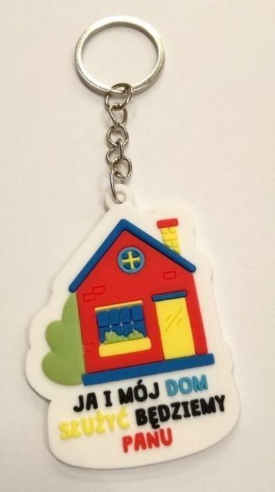 Breloczek Szaron Brelok gumowy - domek - Ja i mój dom 1