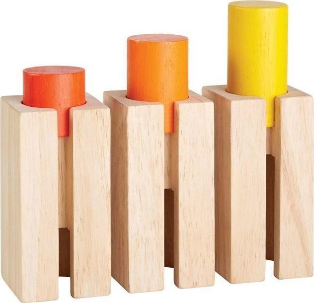 Plan Toys Klocki - Wysokość i Głębokość 1