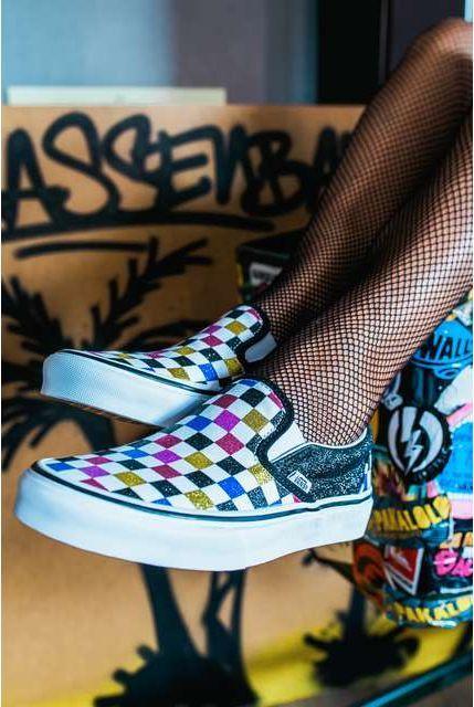 Vans Buty damskie Classic Slip On Glitter Checkerboard r. 36 ID produktu: 6403651