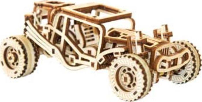 WOODEN CITY Drewniany zestaw mechaniczny Buggy 1