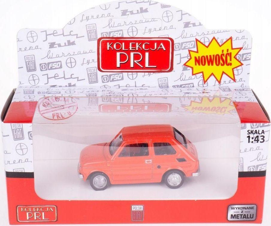Daffi Kolekcja PRL-u Fiat 126P 4 kolory 1