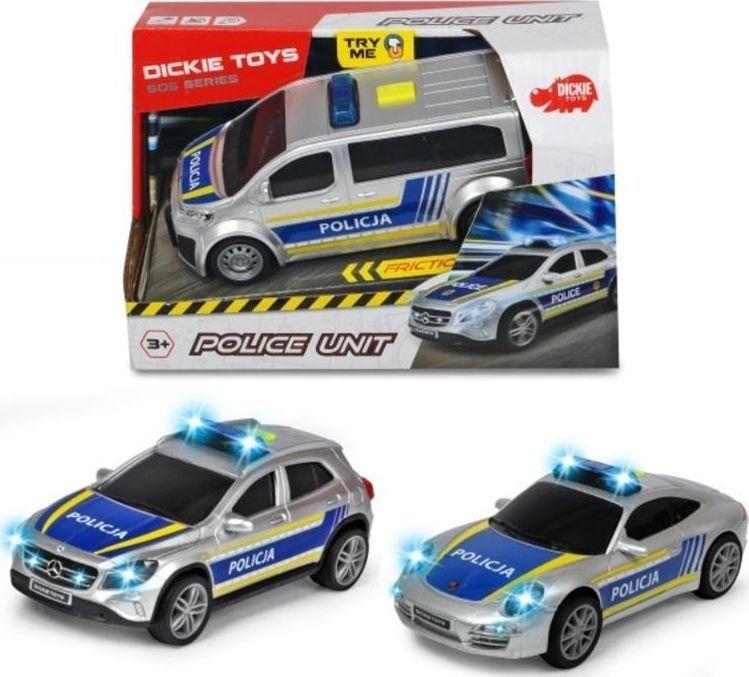 Dickie SOS Jednostka policyjna 15cm 1