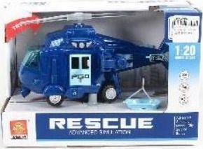Icom Helikopter ze światłem i dźwiękiem wojskowy 23 cm 1