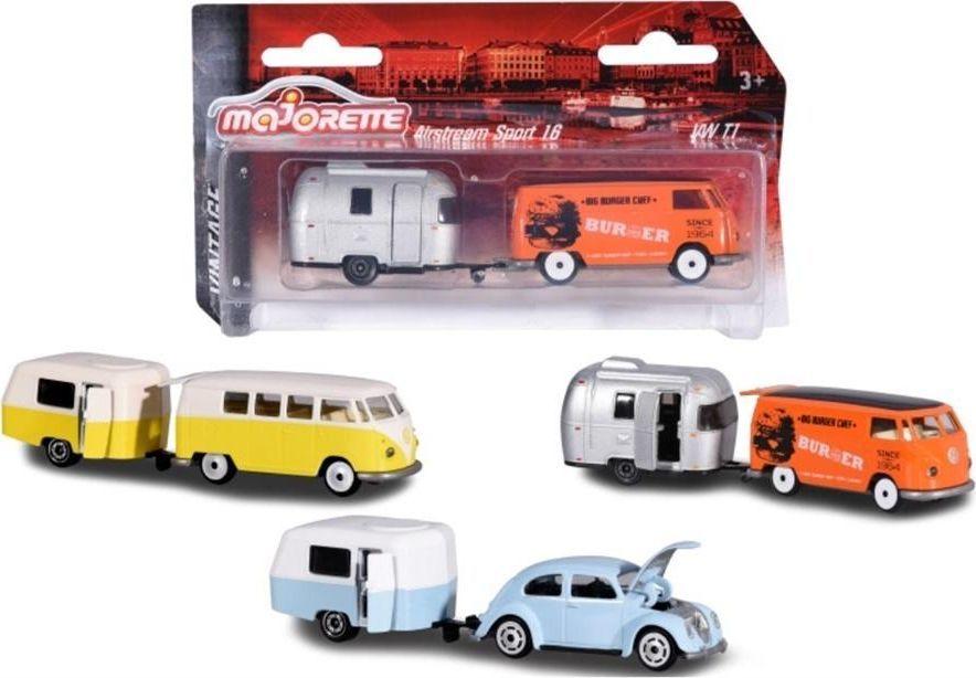 Majorette Majorette Vintage samochód z przyczepą 3 rodzaje 1